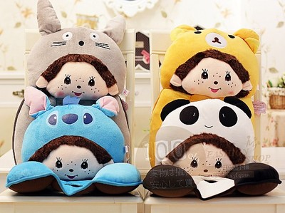 2013 cartoon rabbit plush doll can Aimengqiqi Nice office lumbar cushion lumbar pillow cushions