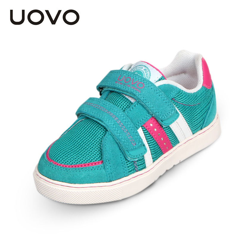 Uovo男童女童儿童板鞋新款韩版透气网布鞋春秋男孩中大童运动鞋潮