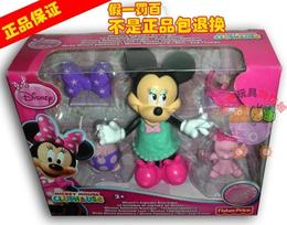 正品费雪迪士尼 米奇妙妙屋 Minnie's Cupcake Bow-tique 套装