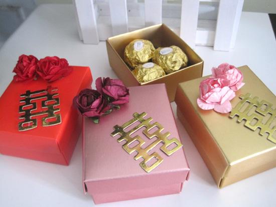 结婚用品  婚礼 回礼 个性 创意  喜糖包装盒 长方形喜糖盒