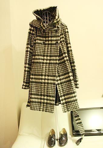 женское пальто ZARA VIVI Средней длины (65 см <длины одежды ≤ 80 см) ZARA Длинный рукав Классический рукав