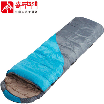 Outdoor winter sleeping bag camping adult single hollow quality cotton thick warm sleeping bag camping Himalayan