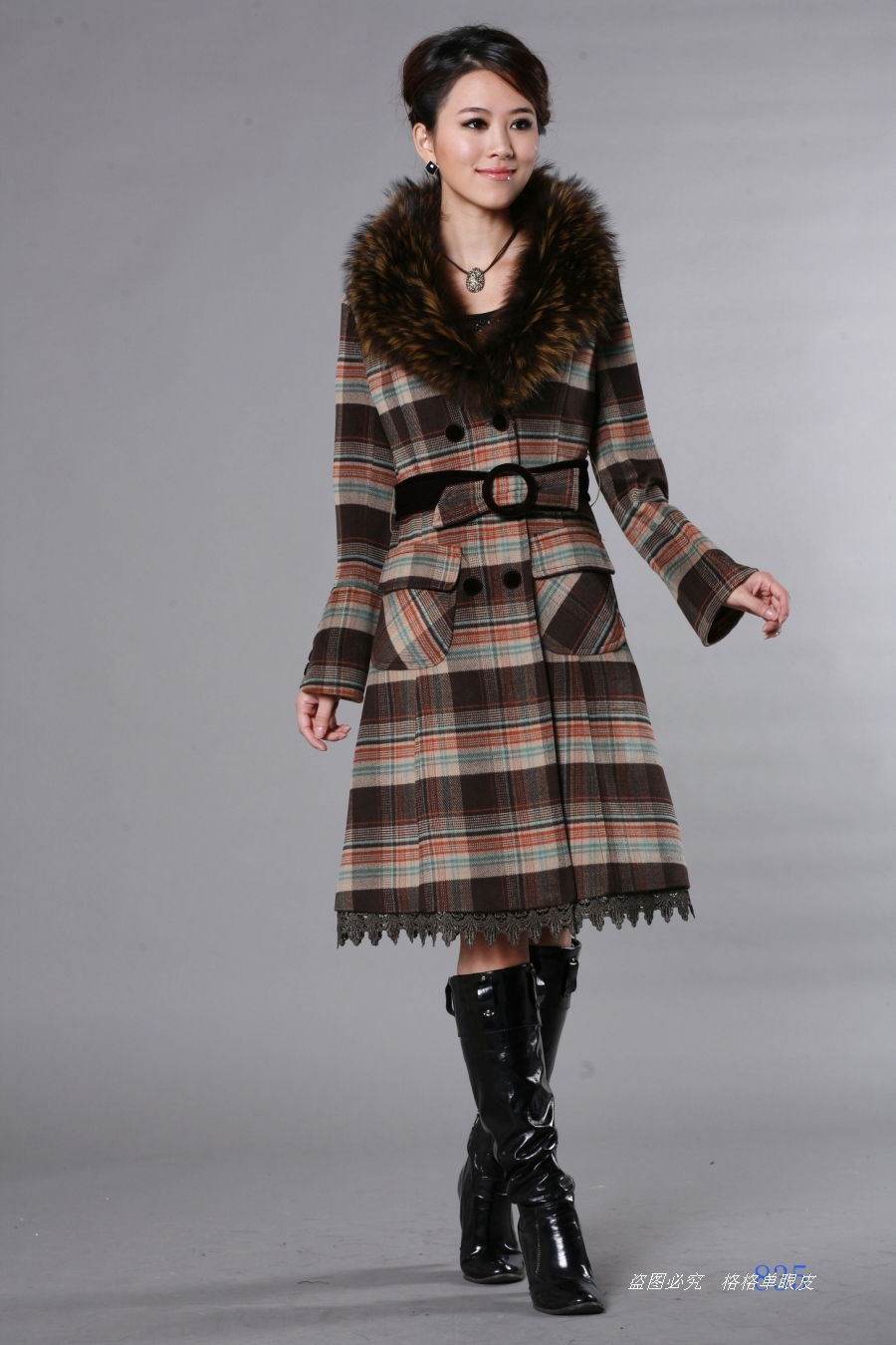 женское пальто 835