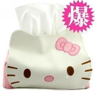 Variety of/Hello Kitty leather tissue paper tissue/paper towel tube tissue box paper holder paper towel