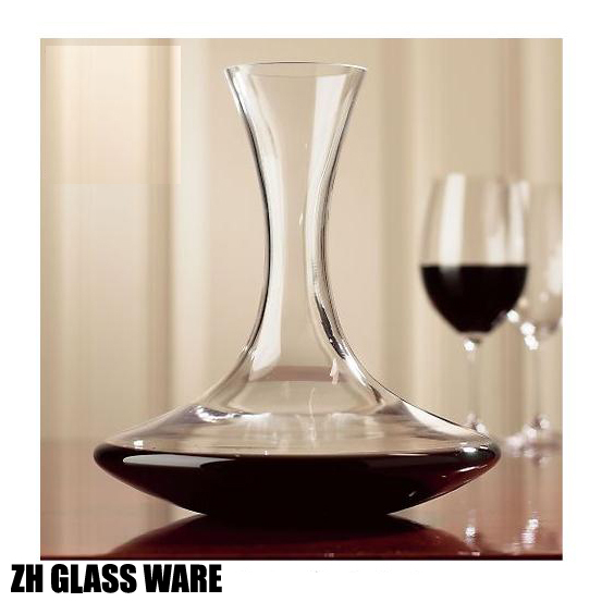 Special offers lead-free crystal glass red wine hangover wine goblet shape wine Kit 1650ML