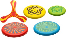 Decathlon TRIBORD foam frisbee/soft toy frisbee UFO frisbee/children
