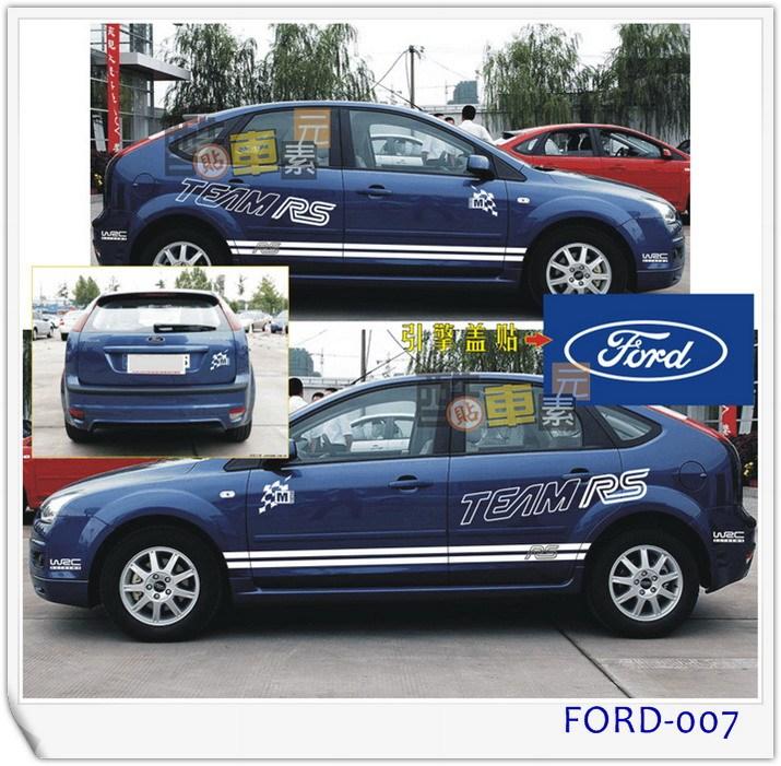 автоаксессуар Автомобильная палку цветок тянуть Спорт Форд Фокус Fox Ford