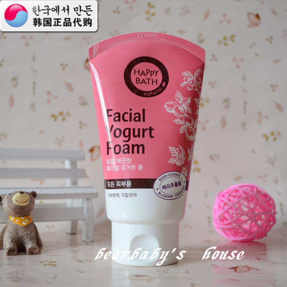 韩国代购 太平洋爱茉莉 化妆品happy bath洗面奶蓝莓味道正品批发