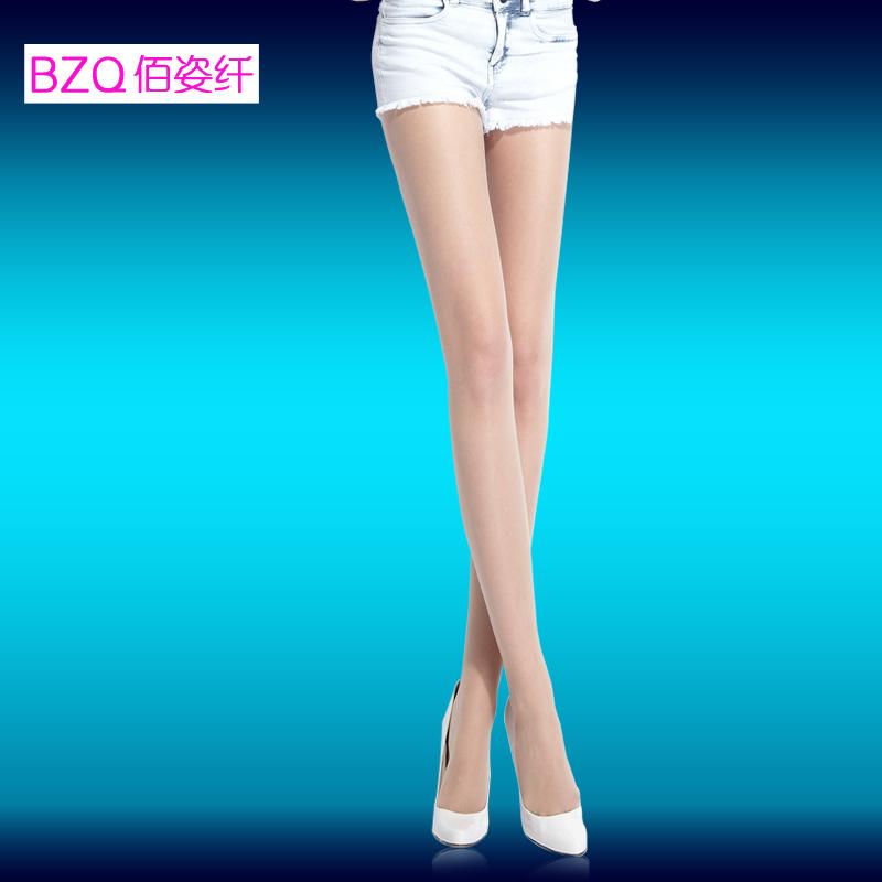 【连身袜】佰姿纤 超薄10D透肤丝袜 防勾丝鱼嘴袜加档连裤袜 性感美腿露趾袜