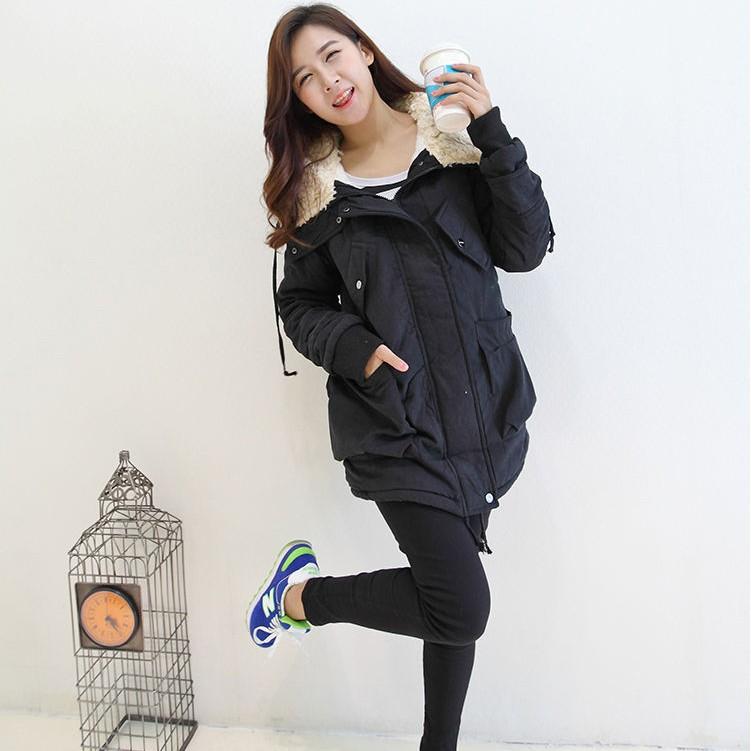 Женская утепленная куртка 2013 покупку Южной Кореи новые дамы зимой прилив женщин длинные мягкие шерсти пальто в хлопок шерсть ягнят