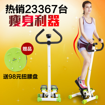 Double super authentic Silent Mini Stepper multifunction fitness equipment home treadmill exercise to lose body sculpting stovepipe