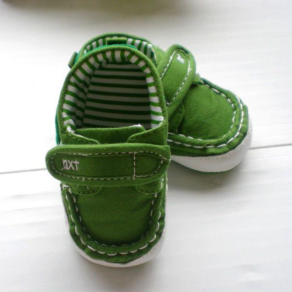 Детские ботинки с нескользящей подошвой Foreign trade 0-1 Унисекс 100 хлопковая ткань