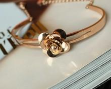 Las importaciones de Corea del Sur de Isis ♥ ♥ pulsera chanel ♥ ♥ camelia de Chanel