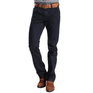 Джинсы мужские GENANX p041/18 2012 Облегающий покрой Полосатая джинсовая ткань Модная одежда для отдыха 2012