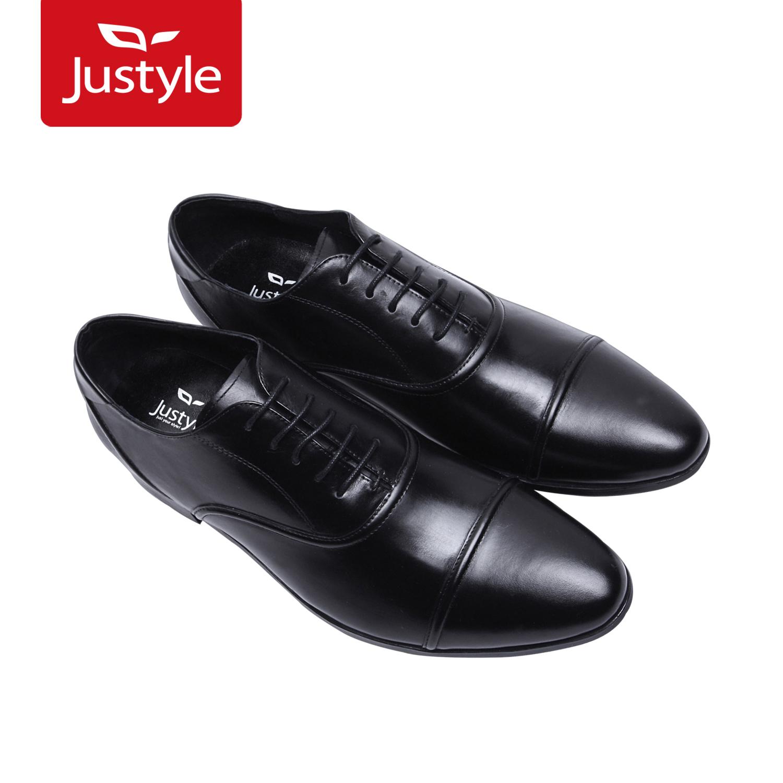 Демисезонные ботинки JUSTYLE 91104061 2012 Для отдыха Острый носок Шнурок