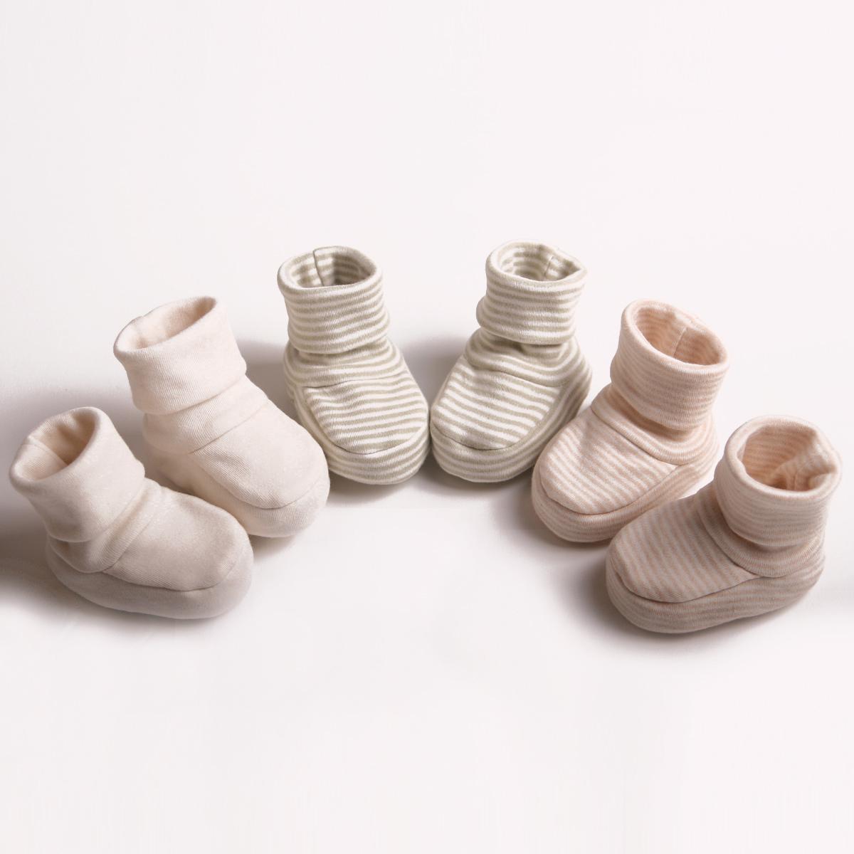 乐桃 婴儿鞋子全棉双层布 新生儿春秋款童鞋 宝宝鞋 纯棉 童鞋
