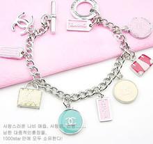 Chanel / Chanel bolso de color rosa caramelo de color alrededor de brazalete multi-marca de otoño / especiales
