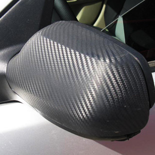 Ancient Ti car stickers of three-dimensional carbon fiber roof, hood sticker carbon fiber interior carbon fiber