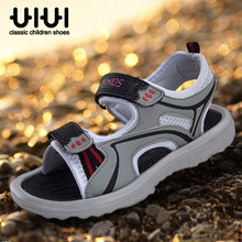 A clearance sale uiui boy leather sandals in the summer in the men's shoes children slippers cool 30-35 yards