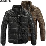 韩版立领男士棉袄保暖外套