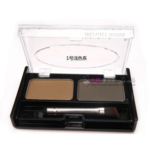 Recommend Mother home beauty says her mother's double effect eyebrow powder grey durable sweat-resistant Brown silty fine
