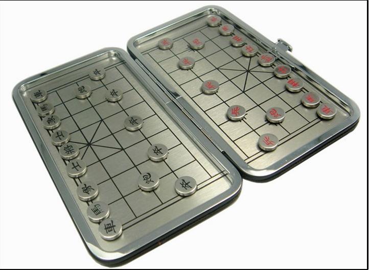 新款正品大号折叠棋盘旅行棋 中国象棋高档礼品磁力磁铁象棋