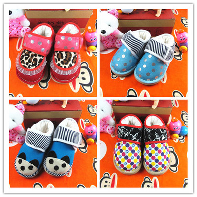 2014 new children's shoes Cui grandmother handmade Melaleuca soles plus thick cotton padded shoes baby shoes toddler shoes