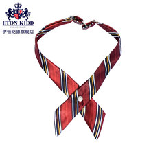 Eaton gide ETON KIDD British school uniforms Female children's wear neckties tie 5010 red stripe