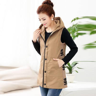 Vest female Spring long section of Korean fashion vest women vest Women 2014 spring new Yin plus authentic
