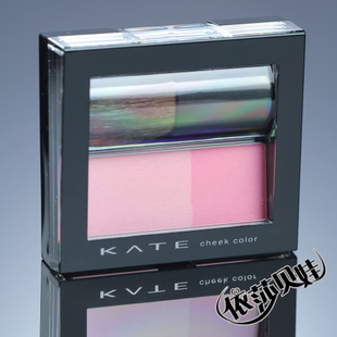 Kanebo Kanebo KATE Kai Ting Pearly capacity dual color pie color stereo blush