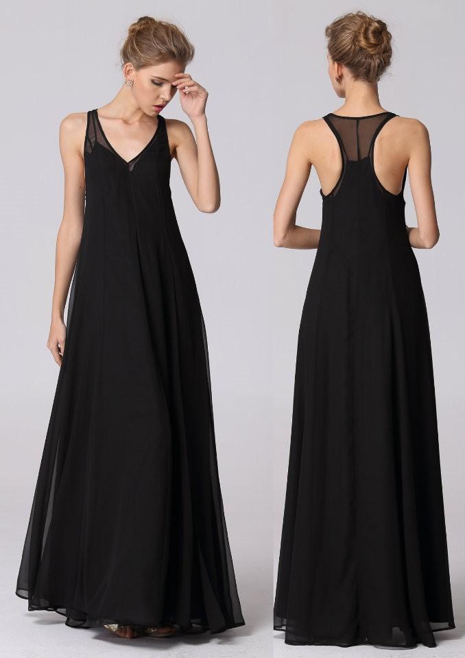 连衣裙原单黑色