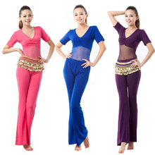Package mail belly dance suit the new belly dance costumes practice one-piece suit belly dance costumes big yards