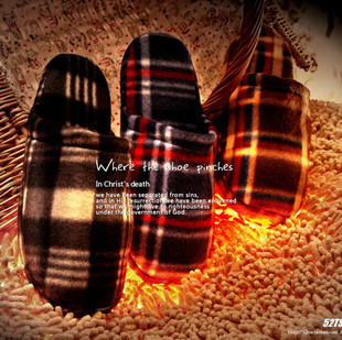 (J6) TSZ export warm and comfortable home slippers qiu dong man indoor slippers household fluffy slippers