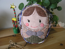 DIY handmade quilt making fabric hand-made cloth bags hand Russia doll Pack Thumbnail
