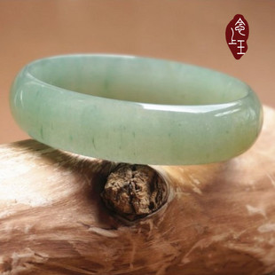 Mother's day gift aventurine green jade bracelet a cargo certificate India natural jade Bangle bracelets green jade bracelet postage