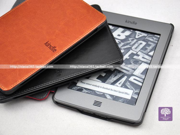 亚马逊 Kindle 4 Kindle Touch 书套 皮套 保护套 原装款 Kindle5
