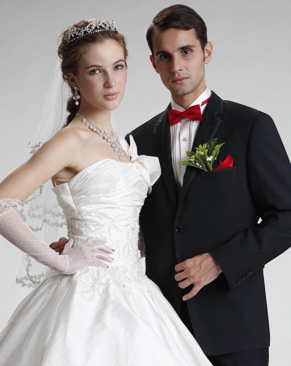 高级定制雅库男士婚庆礼服羊毛结婚西服男装套西黑色修身礼服3066