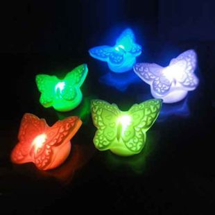 -Zhejiang-Shanghai 38 philatelic colorful butterflies Butterfly colorful lights in night light romantic night lights 50g