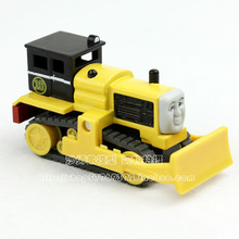 Full 99 small package mail alloy Thomas locomotive BYRON yellow BYRON not magnetic