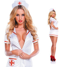 The PULU high-end lingerie nurses with uniform temptation outfit sexy mini skirt role playing