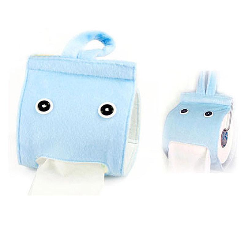 居家家 小精灵布艺纸巾抽纸巾挂袋 厕纸收纳袋生活更添趣味E7352