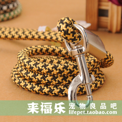 National mail in a large dog leash dog leash dog rope braided nylon snake Golden Satsuma