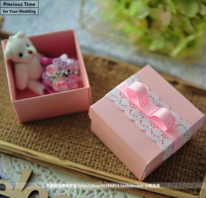 2013新款特价个性婚庆用品 喜庆红色 DIY 创意欧式 喜糖盒