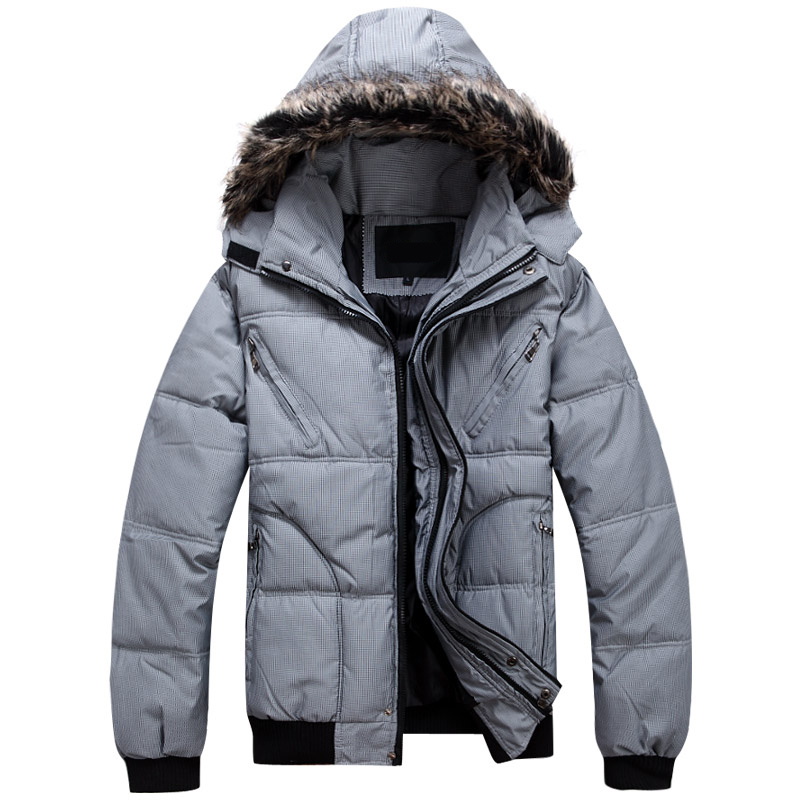 可批发 12年新款秋冬时尚韩版加厚男装棉服 短款男士棉衣外套男