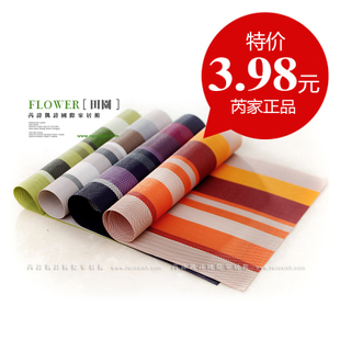 Special offer! oz European style PVC table mat fashion insulating mat carpet and insulation mats coasters