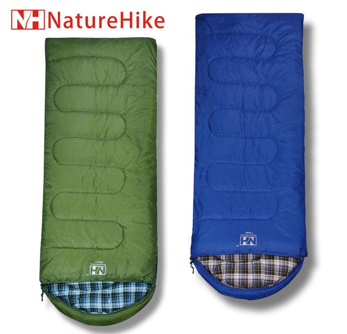 Спальный мешок Открытый кемпинг спальный мешок naturehike хлопка фланель хлопка спальный мешок конверт спальный мешок с капюшоном f300