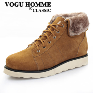 VOGU HOMME weigejia cashmere warm high boots fashion lovers and leisure men