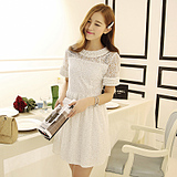 2014 spring new women korean temperament short-sleeved dress women