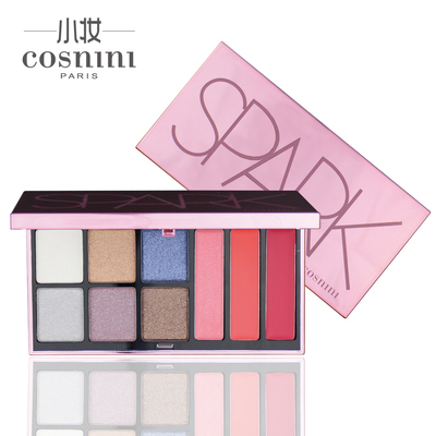 COSNINI small makeup palette makeup kit versatile disc 6-color eye shadow lip and cheek color combination of three beginner Beauty
