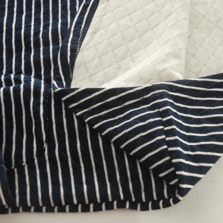 Пижама 11 MUJI Тканое полотно с подкладкой из хлопка В клетку Двубортная застежка Для отдыха дома Женщины